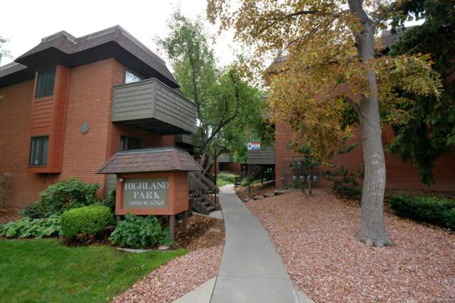 3050 W 32nd Avenue C101, Denver, CO 80211 (#7117997) :: Sellstate Realty Pros