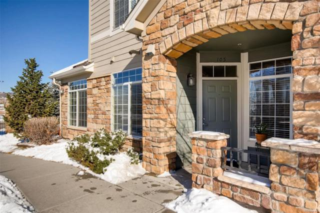 494 Black Feather Loop #105, Castle Rock, CO 80104 (#7119331) :: The Heyl Group at Keller Williams