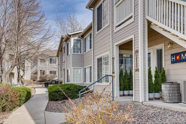 3857 Mossy Rock Drive #101, Highlands Ranch, CO 80126 (#7119652) :: Stephanie Fryncko | Keller Williams Integrity