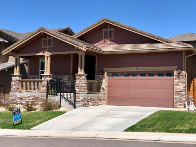 10384 Sierra Ridge Lane, Parker, CO 80134 (#7120044) :: The Peak Properties Group