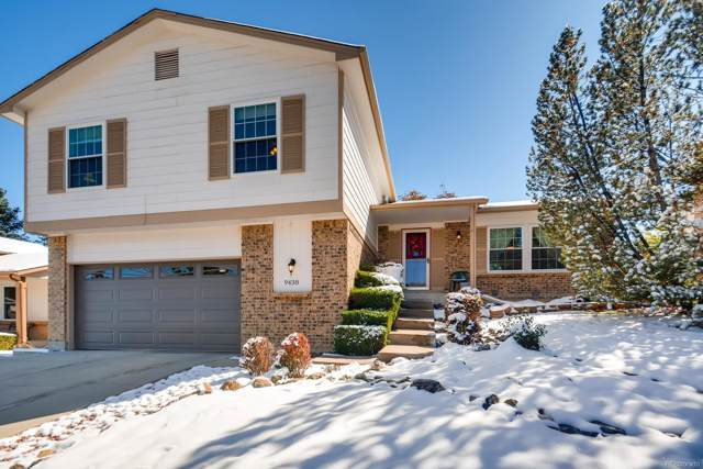 9438 W Laurel Place, Littleton, CO 80128 (#7121299) :: The Gilbert Group