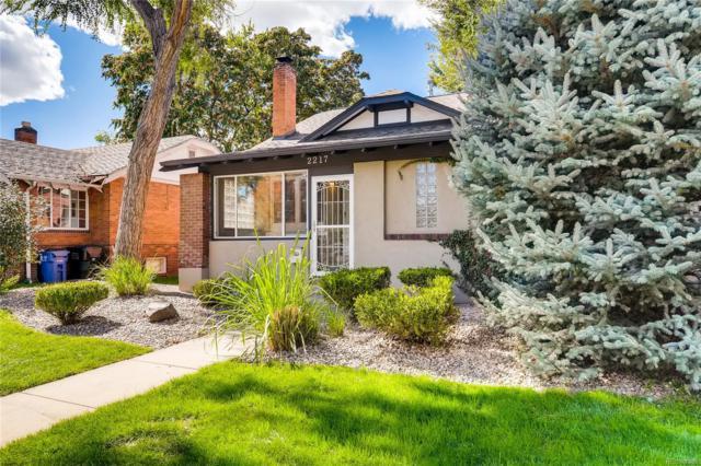 2217 S Logan Street, Denver, CO 80210 (MLS #7122725) :: 8z Real Estate