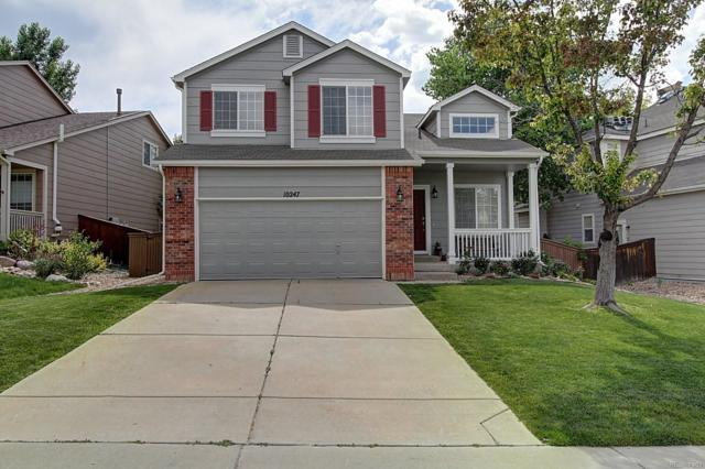 10247 Rotherwood Circle, Highlands Ranch, CO 80130 (#7123887) :: My Home Team