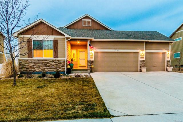 338 Sycamore Avenue, Johnstown, CO 80534 (#7124246) :: The Peak Properties Group