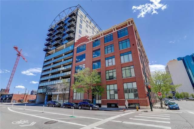 2000 Arapahoe Street #502, Denver, CO 80205 (MLS #7125870) :: Wheelhouse Realty
