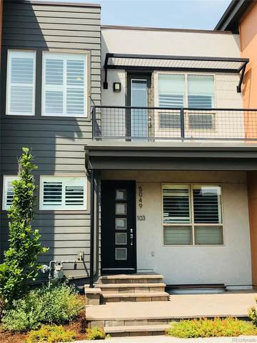 5049 Valentia Street #103, Denver, CO 80238 (MLS #7131399) :: 8z Real Estate