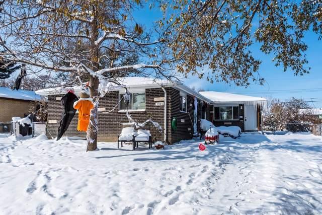 1371 Xanadu Street, Aurora, CO 80011 (#7135062) :: James Crocker Team