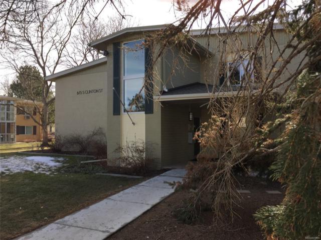 615 S Clinton Street 8A, Denver, CO 80247 (#7142697) :: Hometrackr Denver