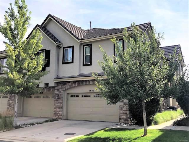 10130 Bluffmont Lane, Lone Tree, CO 80124 (MLS #7142849) :: Keller Williams Realty