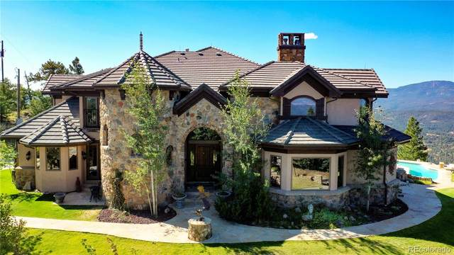 4796 Bear Mountain Drive, Evergreen, CO 80439 (#7146363) :: The Healey Group