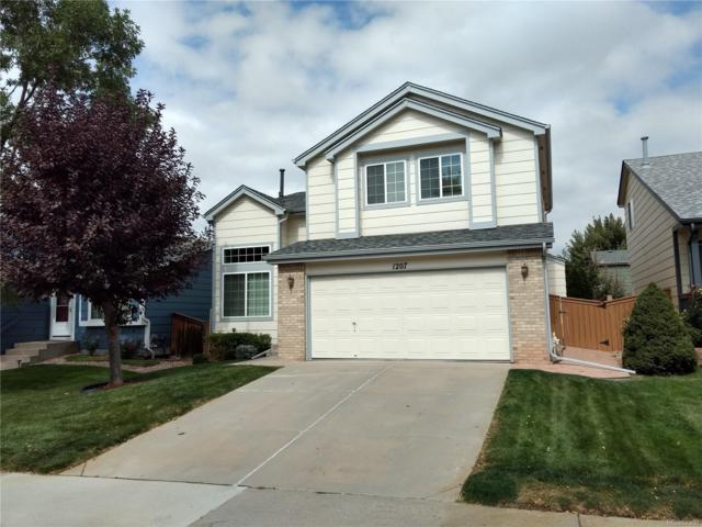 1207 Timbervale Trail, Highlands Ranch, CO 80129 (#7153015) :: House Hunters Colorado