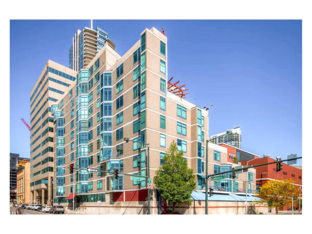 1350 Lawrence Street 8B, Denver, CO 80204 (#7154029) :: Bring Home Denver