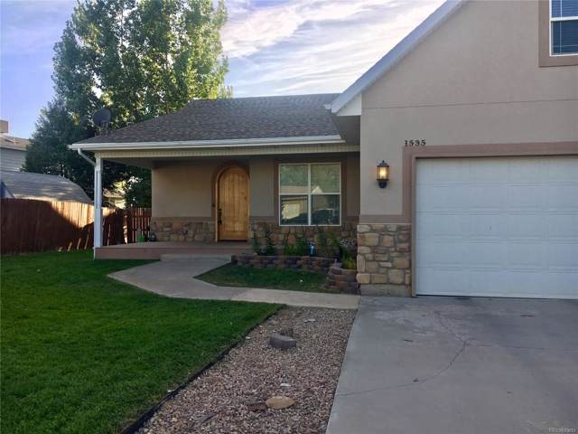 1535 La Mesa Circle, Rangely, CO 81648 (MLS #7157950) :: 8z Real Estate