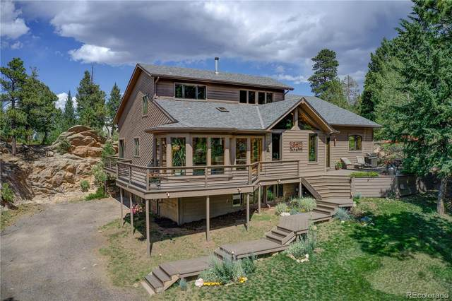 6822 Snowshoe Trail, Evergreen, CO 80439 (#7158886) :: The DeGrood Team