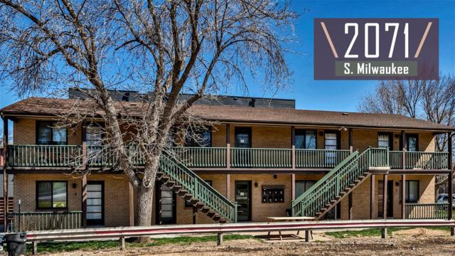2071 S Milwaukee Street, Denver, CO 80210 (MLS #7160219) :: 8z Real Estate