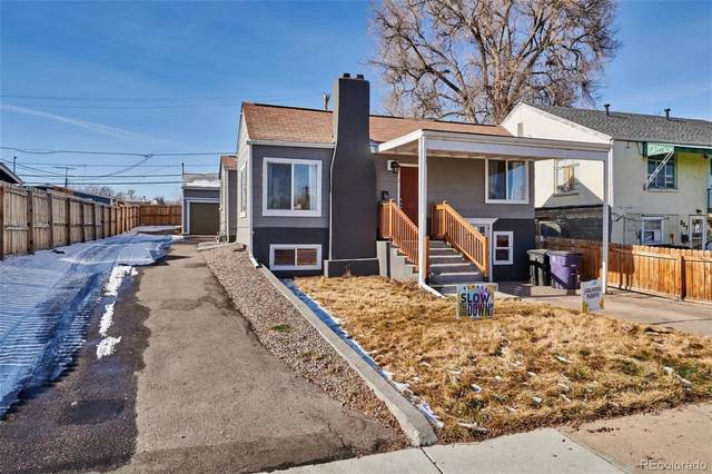 243 S Eliot Street #2, Denver, CO 80219 (#7160985) :: Stephanie Fryncko | Keller Williams Integrity