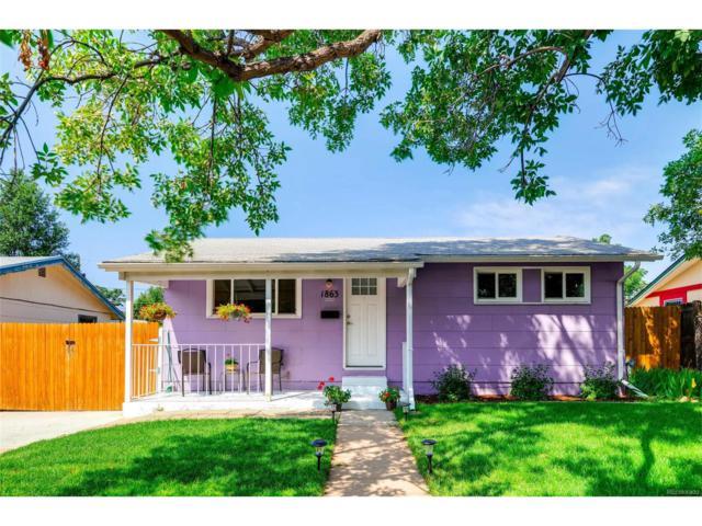 1863 S Alcott Street, Denver, CO 80219 (MLS #7164556) :: 8z Real Estate