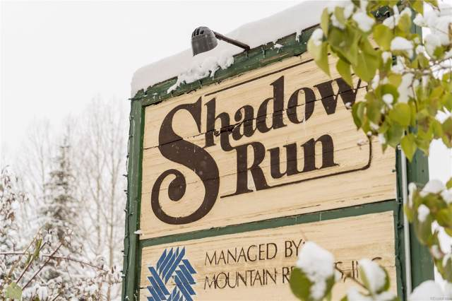 1565 Shadow Run Frontage #106, Steamboat Springs, CO 80487 (MLS #7164613) :: The Sam Biller Home Team