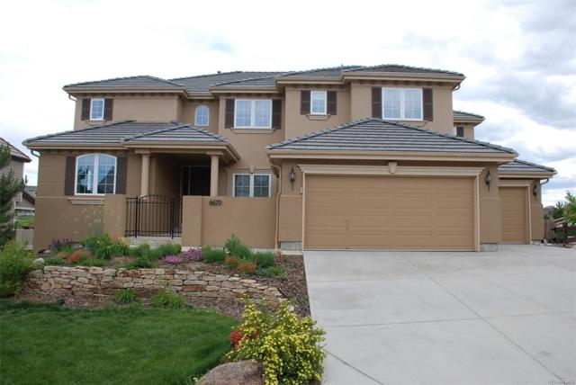 6670 Esperanza Drive, Castle Pines, CO 80108 (#7165030) :: HomeSmart Realty Group