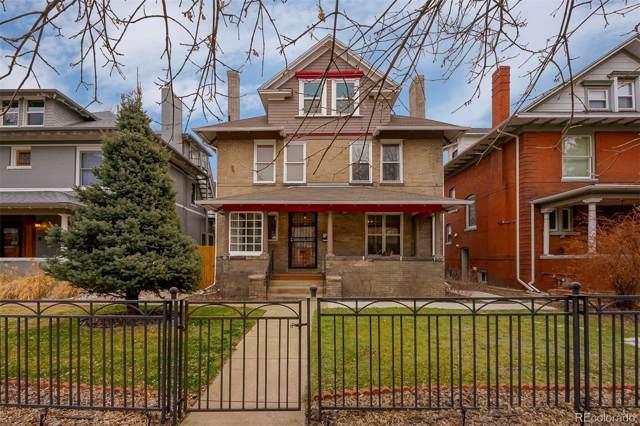 914 Clarkson Street, Denver, CO 80218 (MLS #7165110) :: Kittle Real Estate