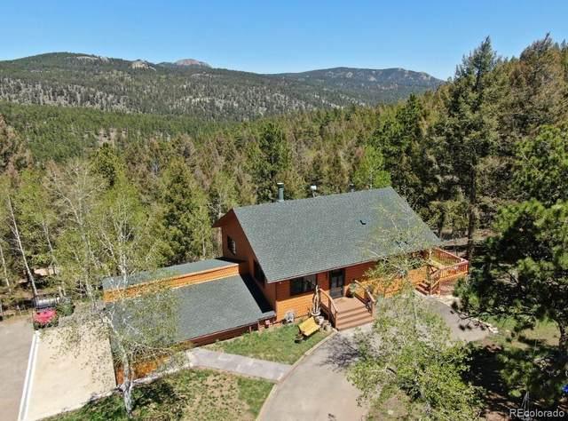 13626 Ponderosa Drive, Conifer, CO 80433 (MLS #7172558) :: Find Colorado