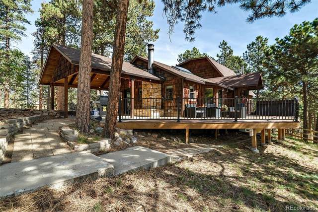 27899 Hidden Trail, Conifer, CO 80433 (#7173239) :: The DeGrood Team