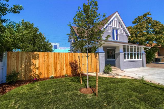 725 S Lincoln Street, Denver, CO 80209 (MLS #7175580) :: The Biller Ringenberg Group