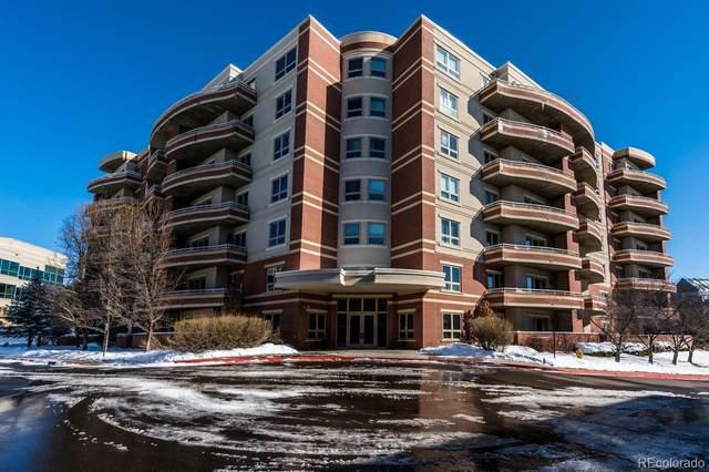 4875 S Monaco Street #703, Denver, CO 80237 (#7176725) :: The Healey Group