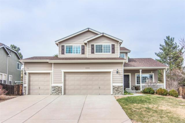 21805 Mount Snowmass Lane, Parker, CO 80138 (#7183734) :: The Peak Properties Group