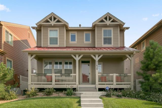 21628 E Stroll Avenue, Parker, CO 80138 (#7184257) :: The Peak Properties Group