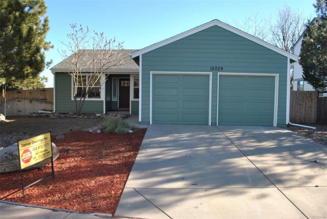 12039 W Hornsilver Mountain, Littleton, CO 80127 (#7184575) :: The City and Mountains Group