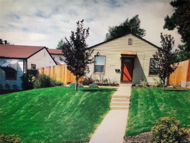 205 Raleigh Street, Denver, CO 80219 (#7197623) :: The Peak Properties Group