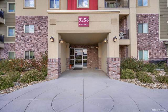 9258 Rockhurst Street #102, Highlands Ranch, CO 80129 (#7199472) :: Mile High Luxury Real Estate