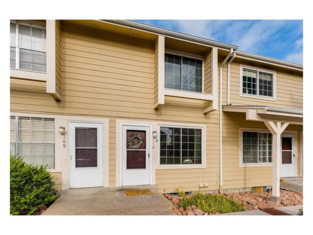 8911 Field Street #110, Westminster, CO 80021 (#7199499) :: The Peak Properties Group