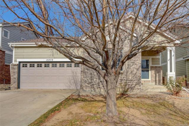 15773 E 96th Way, Commerce City, CO 80022 (#7199717) :: The Peak Properties Group
