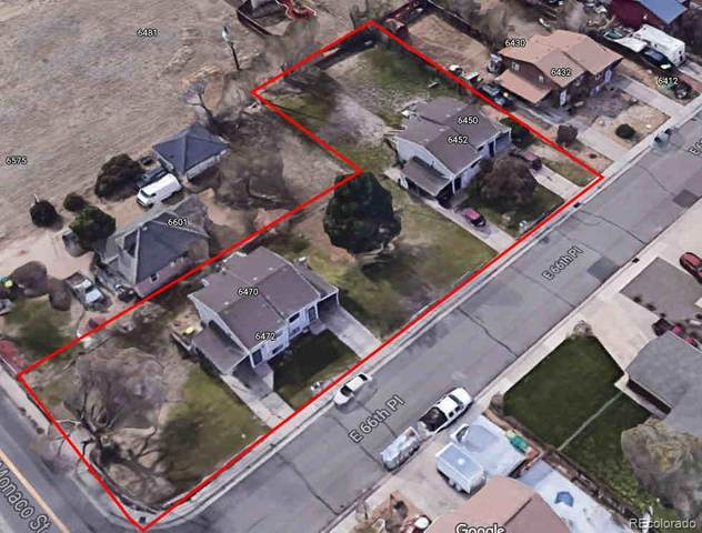 6450-6472 E. 66th Place, Commerce City, CO 80022 (MLS #7201463) :: 8z Real Estate