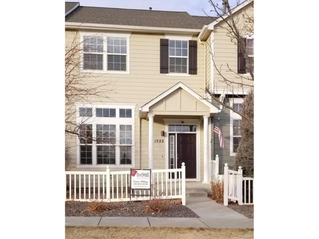 1522 Chimney Peak Drive, Castle Rock, CO 80109 (#7203666) :: The Thayer Group