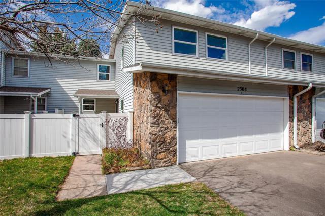 2508 S Vaughn Way C, Aurora, CO 80014 (#7210600) :: House Hunters Colorado