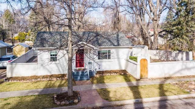 1916 N Franklin Street, Colorado Springs, CO 80907 (#7211095) :: HomePopper