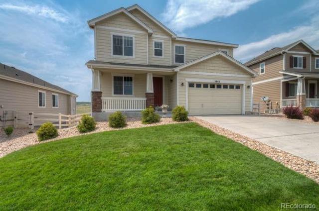 2843 Hillcroft Lane, Castle Rock, CO 80104 (#7211693) :: The Pete Cook Home Group