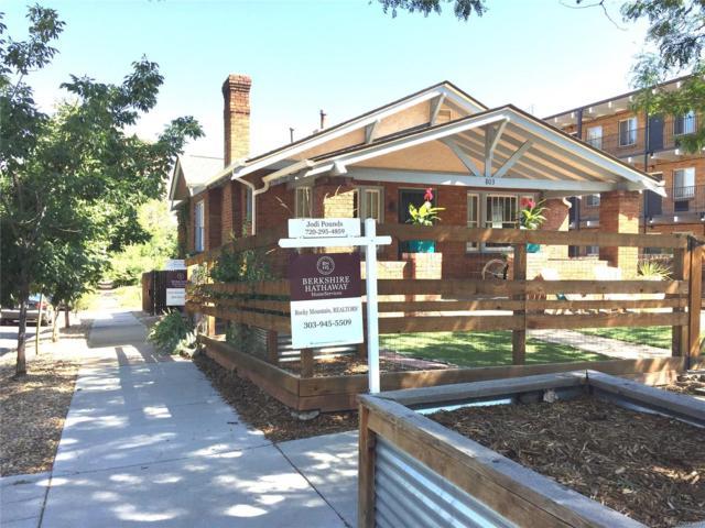803 E Ellsworth Avenue, Denver, CO 80209 (#7213095) :: Wisdom Real Estate