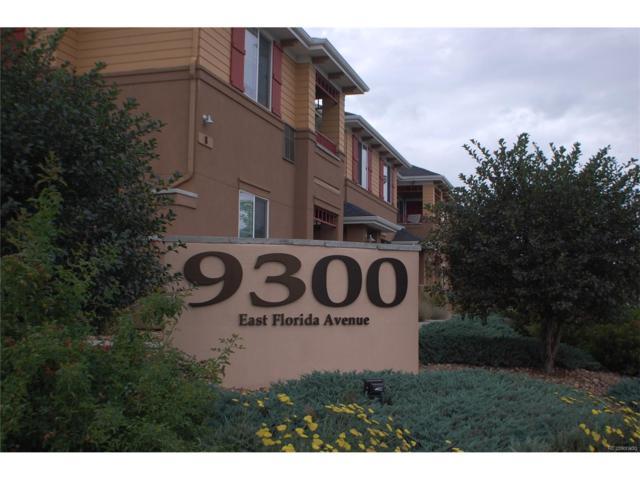 9300 E Florida Avenue #503, Denver, CO 80247 (MLS #7213513) :: 8z Real Estate