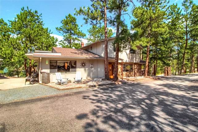 3499 S Saddle Road, Evergreen, CO 80439 (#7219000) :: The DeGrood Team