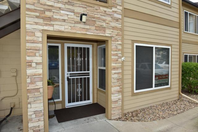 4875 S Balsam Way 12-101, Littleton, CO 80123 (#7220965) :: The Pete Cook Home Group