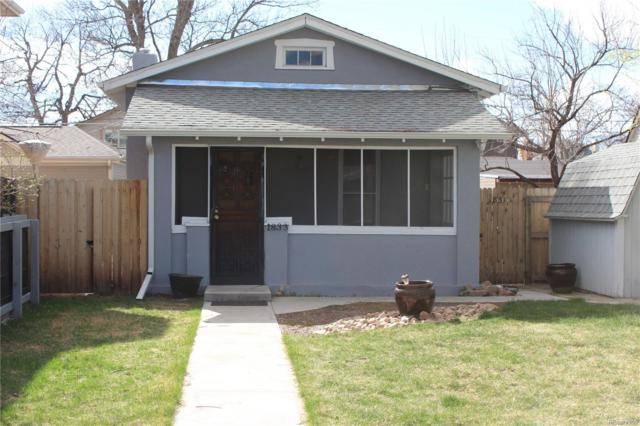 1833 S Clarkson Street, Denver, CO 80210 (#7222497) :: The Peak Properties Group