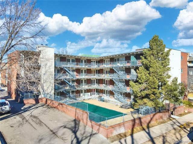 33 N Corona Street #401, Denver, CO 80218 (#7225318) :: The Dixon Group