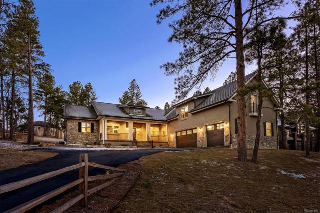 672 Cumberland Road, Larkspur, CO 80118 (#7227486) :: The Pete Cook Home Group