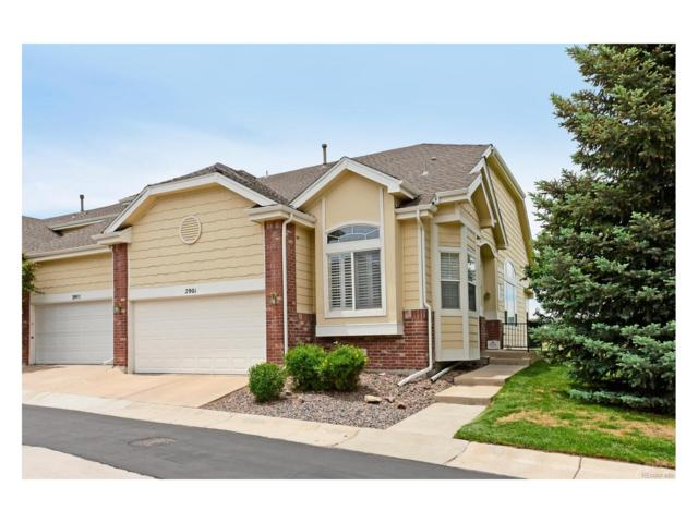 2901 Newport Circle, Castle Rock, CO 80104 (#7228141) :: The Griffith Home Team