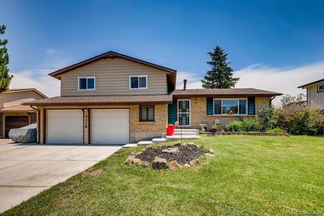 4318 S Carr Court, Littleton, CO 80123 (#7228758) :: The DeGrood Team