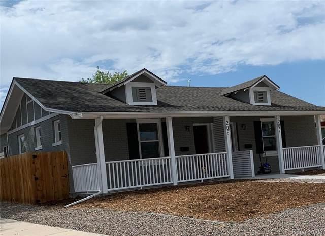 207 N Hazel Court, Denver, CO 80219 (#7233628) :: Compass Colorado Realty